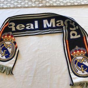 Real Madrid Soccer Fan Scarf banner